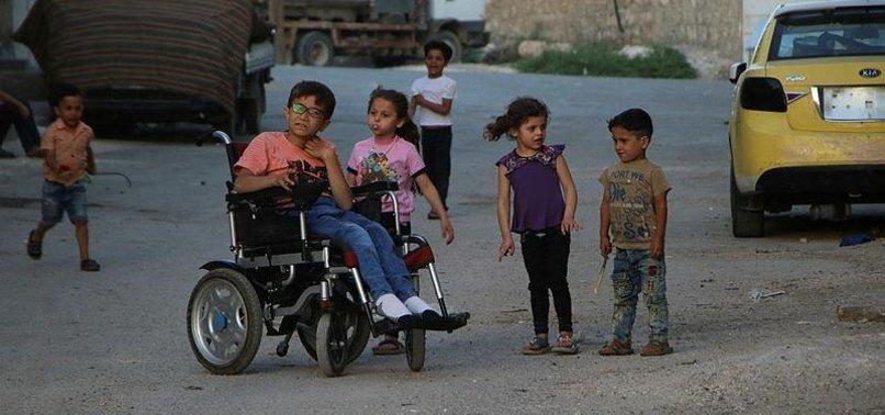 SYRIAN BOY LEFT PARALYZED BY ASSAD REGIME EYES TREATMENT IN TURKEY