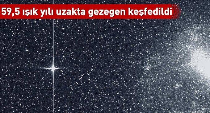 Dünyadan 59,5 ışık yılı uzakta gezegen keşfedildi