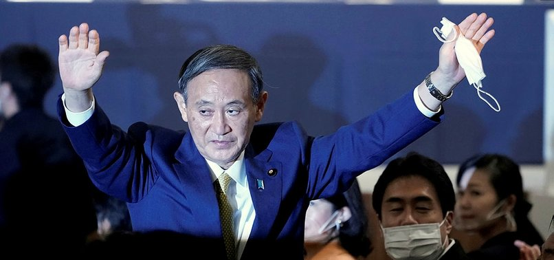 YOSHIHIDE SUGA NAMED JAPANS PRIME MINISTER, SUCCEEDING ABE
