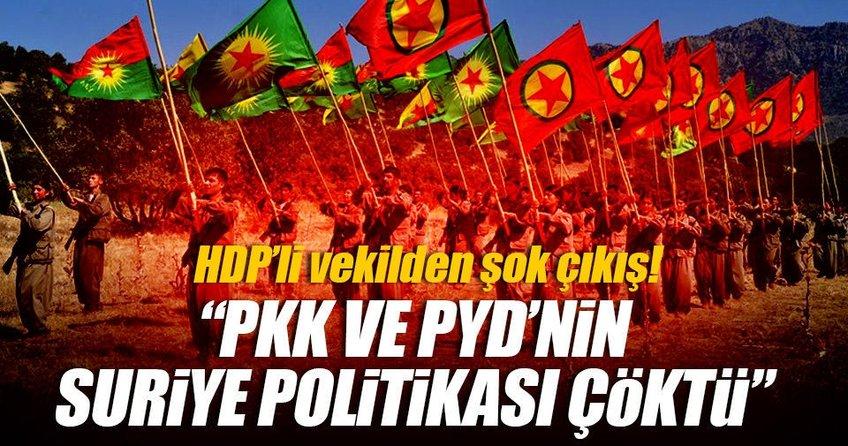 HDP'li Altan Tan: PKK ve PYD'nin Suriye politikası çöktü