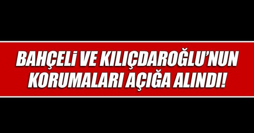 Bahçeli ve Kılıçdaroğlu'nun korumaları ByLock'tan açığa alındı
