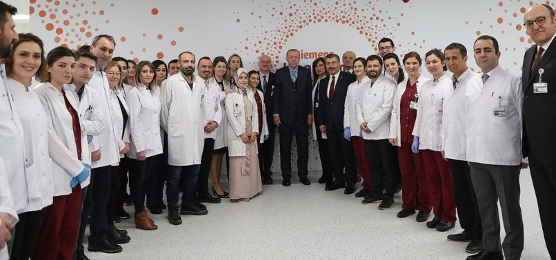 ERDOĞAN INAUGURATES EUROPES BIGGEST CITY HOSPITAL IN ANKARA