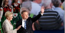 Duda wins 1st round of Poland's presidential election