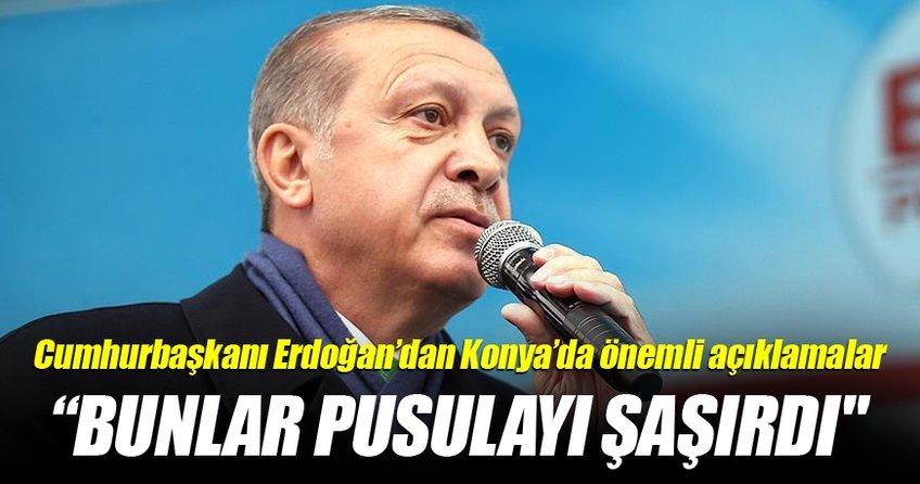 Cumhurbaşkanı Erdoğan'dan Konya'da önemli açıklamalar