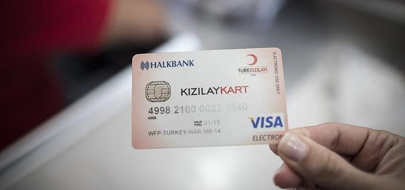 1.2M REFUGEES IN TURKEY OWN CHARITY DEBIT CARDS