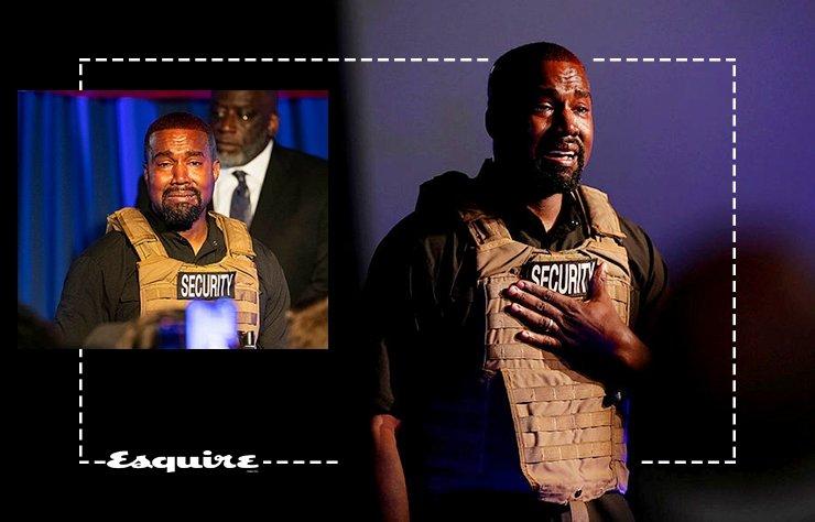 ABD Başkan adayı Kanye West miting verdi