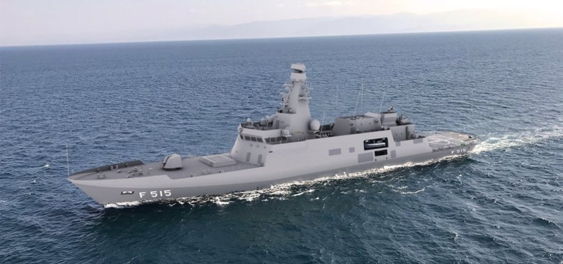 TURKEY TO BUILD ITS FIRST LOCALLY-MADE FRIGATE BY MOSTLY USING INDIGENOUS RESOURCES