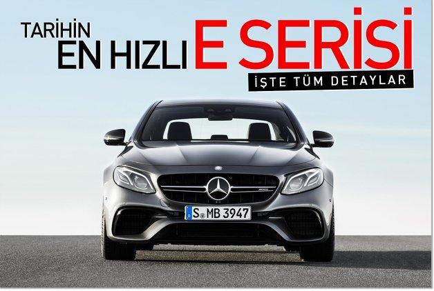 Mercedes tarihinin en hızlı E Serisi