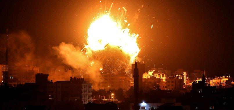 ISRAELI AIRSTRIKE KILLS 10 IRAN-BACKED GUNMEN IN SYRIA - REPORT