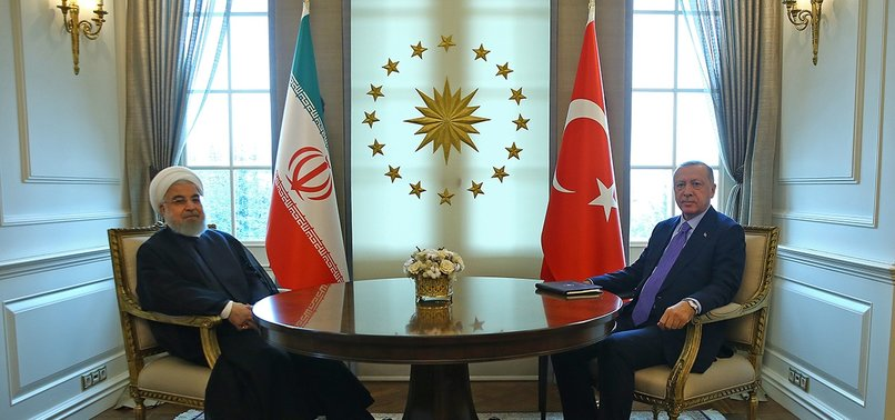 ERDOĞAN, IRANS ROUHANI MEET IN ANKARA AHEAD OF SYRIA SUMMIT