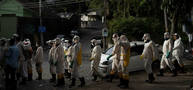 BRAZIL REPORTS 32,091 NEW CORONAVIRUS CASES AND 1,272 DEATHS