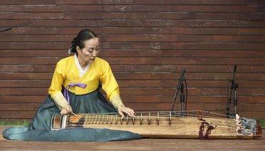 Başkentte Kore Geleneksel Müzik ve Dans Gösterisi Etkinliği