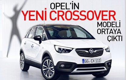 Opel'in yeni crossover modeli ortaya çıktı