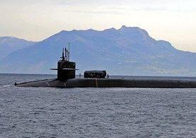 ABD, en güçlü denizaltılarından birini Güney Kore'ye gönderdi