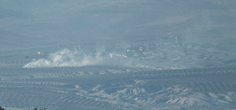 TURKEY CONDUCTS AIR STRIKES ON SYRIAS AFRIN OCCUPIED BY PYD/PKK
