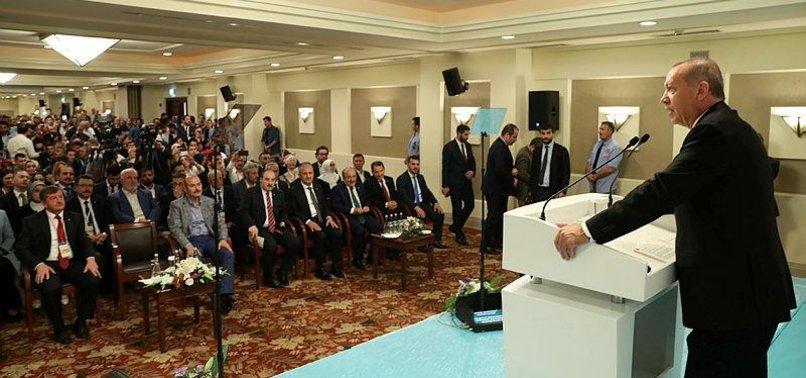 PRESIDENT ERDOĞAN DESCRIBES CRASH OF LIRA AS POLITICAL PLOT AGAINST TURKEY