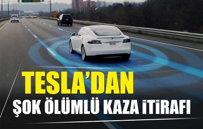 Tesladan şok ölümlü kaza itirafı
