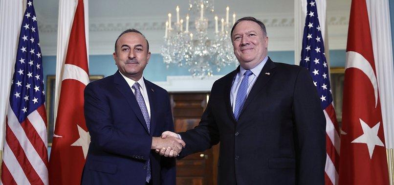 FM ÇAVUŞOĞLU, US COUNTERPART POMPEO HOLD PHONE CALL