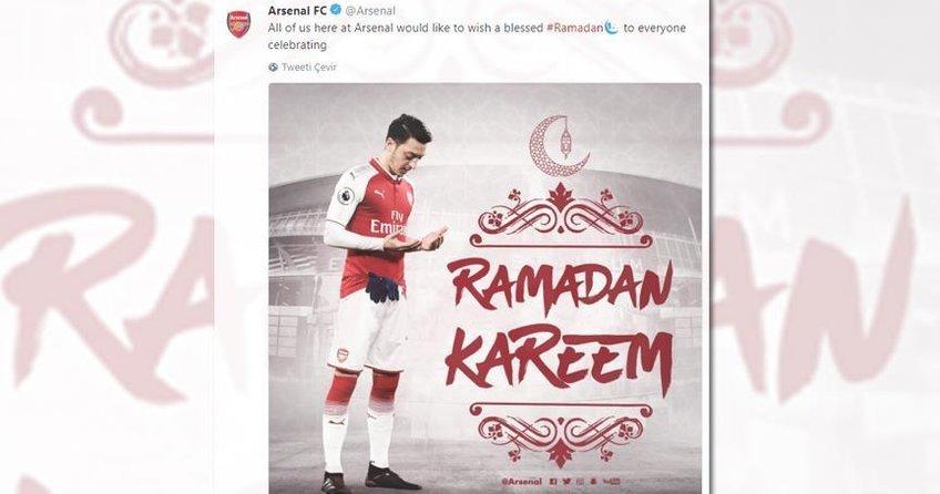 Arsenalden Ramazan mesajı
