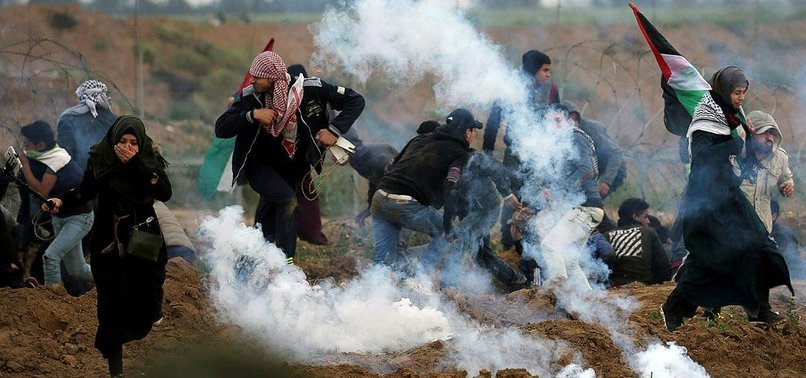 UN: 30 JOURNALISTS COVERING PROTESTS INJURED BY ISRAEL
