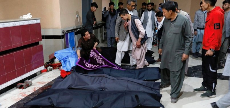 AT LEAST 13 DEAD, 30 HURT IN AFGHANISTAN SUICIDE BLAST
