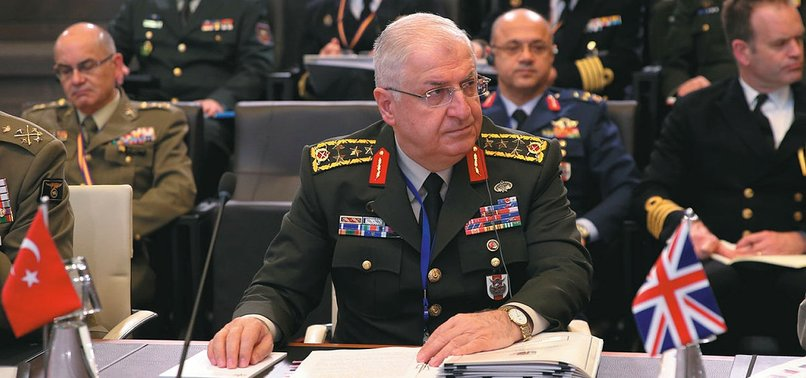 TURKISH, US ARMY CHIEFS MEET IN BRUSSELS