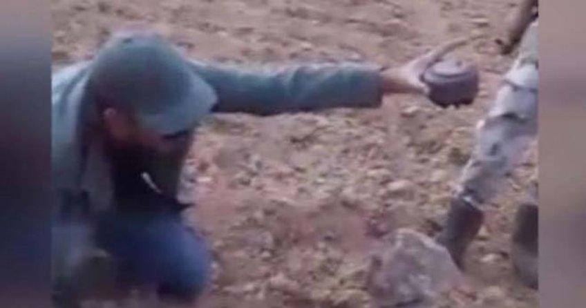 ÖSO Komutanı Fehim İsa mayını elleriyle çıkarttı