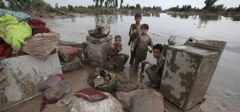 DOZENS KILLED AS RAINS WREAK HAVOC ACROSS PAKISTAN