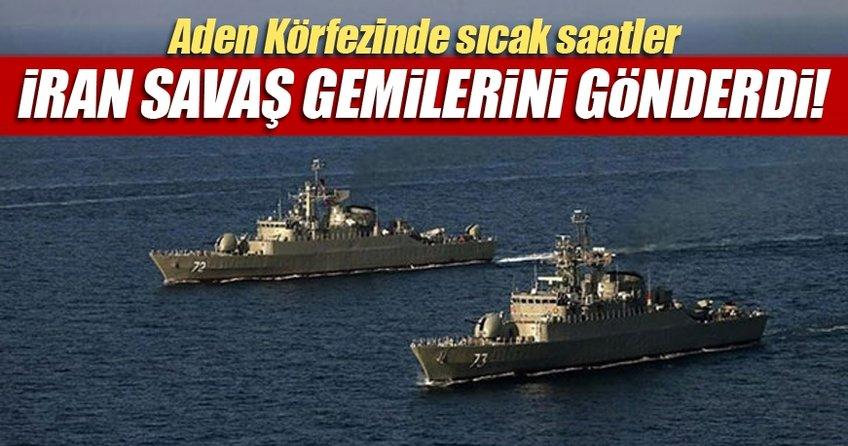 İran uluslararası sulara savaş gemisi gönderdi