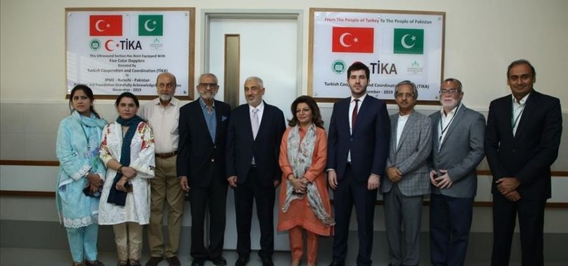 TURKEY EXPANDS ULTRASOUND FACILITY IN PAKISTAN HOSPITAL