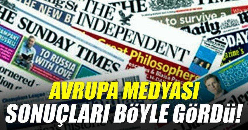 Avrupa basını yine Cumhurbaşkanı Erdoğan'ı hedef aldı