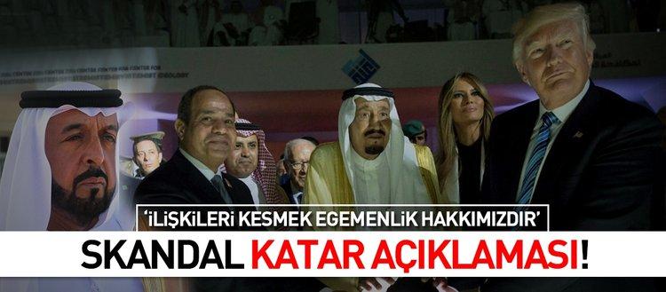 Suudi Arabistan-BAE ve Bahreyn'den Katar açıklaması