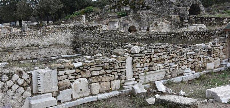 1500-YEAR-OLD HERITAGES FOUND IN TURKEY