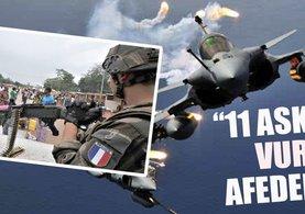 Fransızlar yanlışlıkla 11 Mali askerini öldürdü