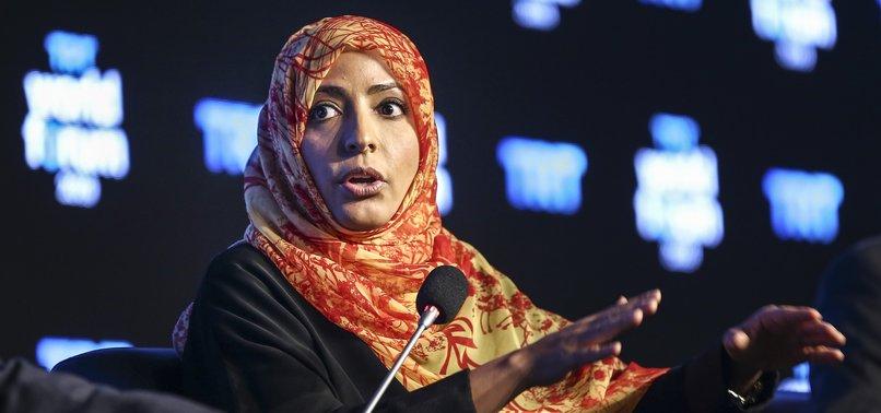 KHASHOGGI KILLING UNCOVERS REAL FACE OF SAUDI ARABIA: NOBEL LAUREATE YEMENI ACTIVIST
