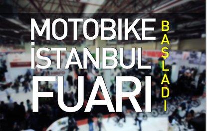 Motobike Istanbul Fuarı başladı