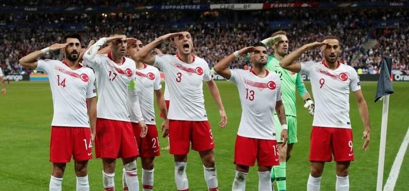 UEFA WONT FINE TURKEY OVER MILITARY SALUTE