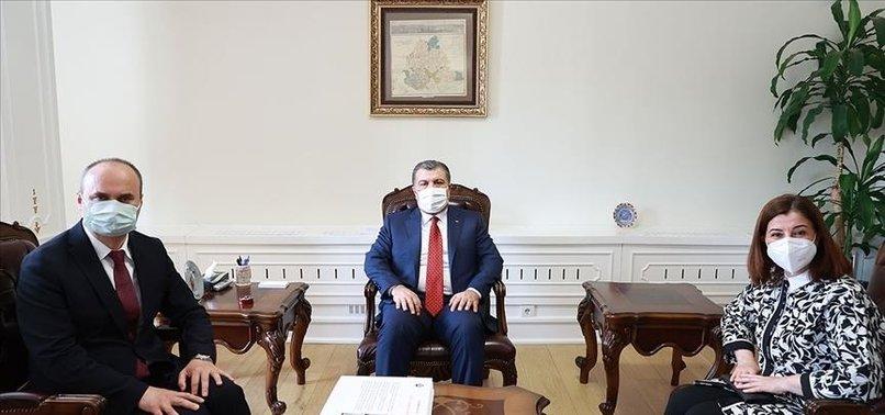 TURKISH HEALTH MINISTER HAILS MEASURES AGAINST VIRUS