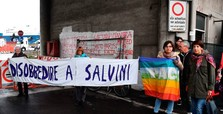 Italian dock workers refuse to load cargo onto ship