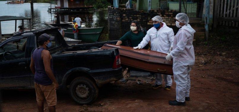 BRAZIL CORONAVIRUS DEATHS COULD SURPASS 125,000 BY AUGUST - STUDY