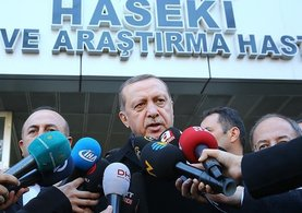 Cumhurbaşkanı Erdoğan'dan patlamayla ilgili açıklama