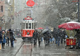Güney Marmara'ya kar geliyor