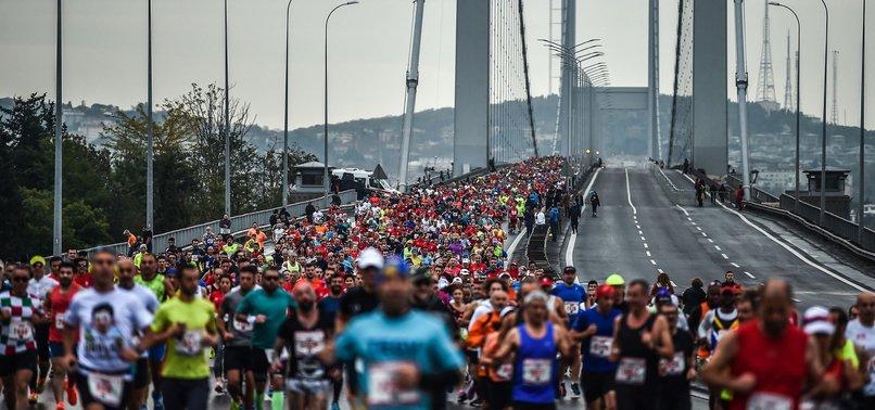 THOUSANDS TO RUN IN TRANSCONTINENTAL ISTANBUL MARATHON ON SUNDAY