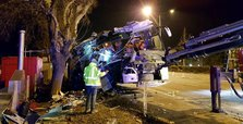 Eleven killed, 46 wounded in Turkey bus crash: official