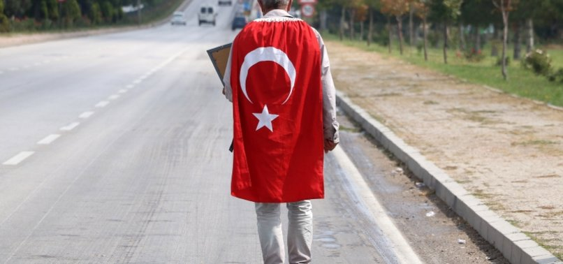 FATHER CONTINUES HIS WALK TO TURKISH CAPITAL FOR HIS PKK-KIDNAPPED DAUGHTER