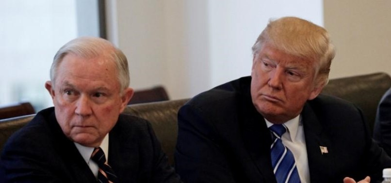 TRUMP BLASTS DISGRACEFUL SESSIONS OVER ILLEGAL WIRETAPPING
