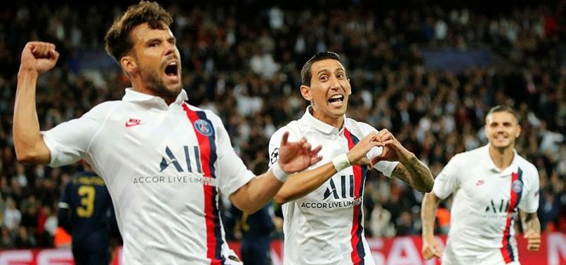 DI MARIA SCORES 2 AS PSG BEATS MADRID IN CHAMPIONS LEAGUE