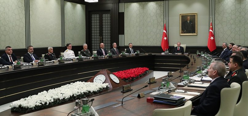 NATIONAL SECURITY COUNCIL: TURKEY TO STRENGTHEN EFFORTS TO REALIZE SYRIA SAFE ZONE