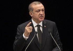 Cumhurbaşkanı Erdoğan Merkel'e bu mesajı gönderdi!