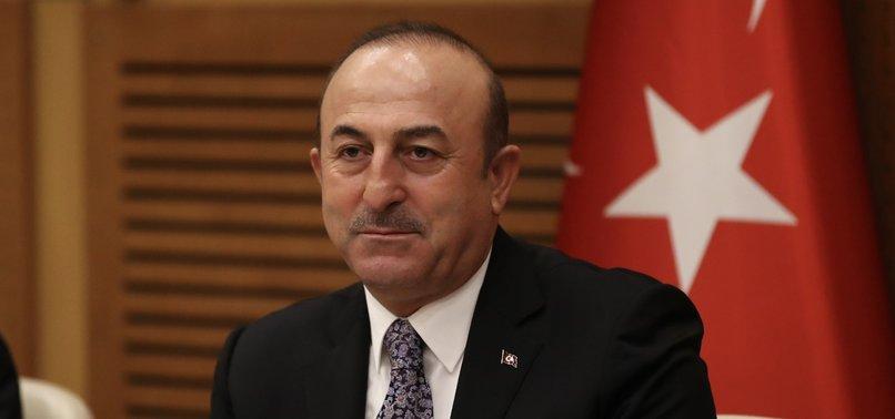 TURKEY WILL DRILL FOR GAS IN EAST MED UNTIL GREEK CYPRIOTS ACCEPT PLAN, TURKISH FM ÇAVUŞOĞLU SAYS